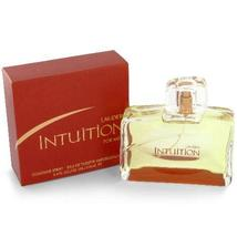 Intution by Estee Lauder for men 3.4 fl.oz/ 100 ml Cologne / Eau De Toilette Spr - $83.98