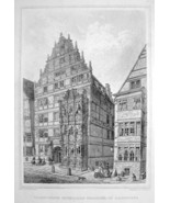 GERMANY Hannover House of Mathematician Leibnit... - $39.55