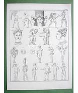 MYTHOLOGY Roman Gods Nemesis Proserpina Faun - ... - $10.89