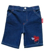 Disney 12 Mos. Baby Girls Jean Capri Shorts - $5.99