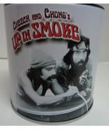 Cheech & Chong Up in Smoke On Mic Collectible Ashtray Storage Tin NEW - $7.99
