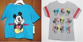 Disney Mickey Mouse Toddler Boys T-Shirts 2 Choices Sizes 3T, 4T and 5T NWT - $9.09