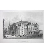 GERMANY Bremen New Exchange Building - 1860 Ori... - $39.55