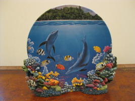 Collector Plate - Aquatic Dance - Hamilton Collection - $25.00