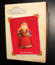 Hallmark Keepsake Christmas Ornament 2003 The Decision Naughty Or Nice B... - $7.99