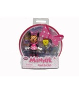 Brand New Disney Minnie Mouse Small Doll Set Cu... - $9.99