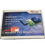 AIRLINK WIRELESS PCI ADAPTER - $17.75