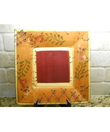 "Ambiance Romance square serving platter 11 3/4"" - $29.65"