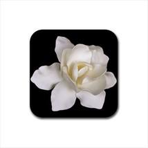 Gardenia Flowers Non-Slip Coaster Set - $6.74