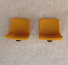REPLACEMENT Playmobil Zoo Dolphin Basin playset #4468 LOT OF 2 YELLOW CH... - $9.75