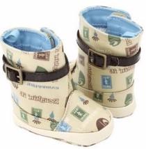 NWT BABY DEER Designer Infant Toddler Boy or Girl Shoe Boot Size 3 -18 Months