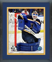 Brian Elliott  Blues 2016 Stanley Cup® Playoffs  - 11x14 Matted/Framed Photo - $42.95
