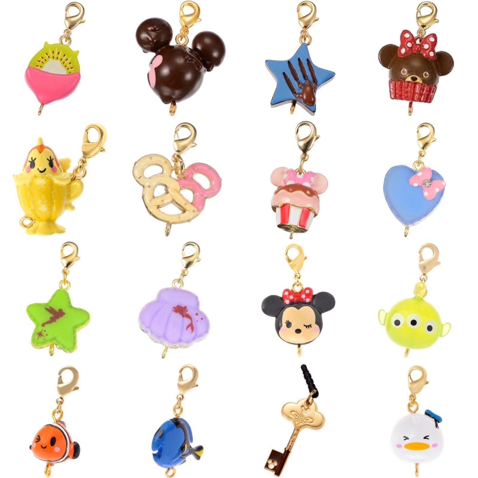 Disney Store Japan D-Tech Tsum Tsum Kawaii Phone Charm Cute Dessert Tokyo Design