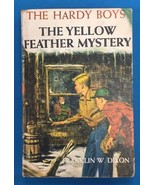 THE HARDY BOYS The Yellow Feather Mystery by Franklin W Dixon (c) 1953 G... - $9.89