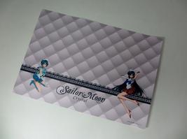 Sailor moon Crystal Asahi drink gift Japan Rare plastic poster lunch mat... - $37.50