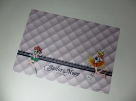 Sailor moon Crystal Asahi drink Japan Rare plastic poster lunch mat Venu... - $37.50