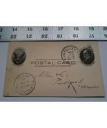 Home Treasure Postcard 1903 Postal Card Allen Co Portland Maine Double P... - $18.99