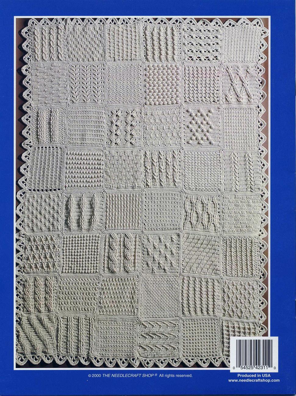 Crochet Pattern Book: Crochet Aran Sampler and 32 similar items