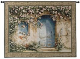 53x42 UN APRES MIDI Floral Home Door Floral Tapestry Wall Hanging  - $169.95