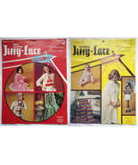 2 Crochet Pattern Books: Jiffy-Lace - Otherwise... - $5.00