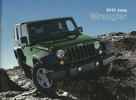 2010 Jeep WRANGLER brochure catalog US 10 Unlimited Rubicon - $12.00