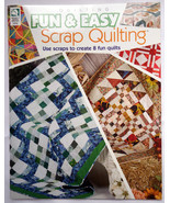 Quilting Booklet: Fun & Easy Scrap Quilting by ... - $9.50