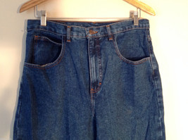 WearGuard Men's S Denim Work Jeans Straight Leg Medium Blue Wash Classic Rise image 2