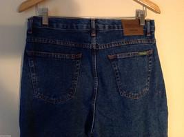 WearGuard Men's S Denim Work Jeans Straight Leg Medium Blue Wash Classic Rise image 4