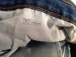 WearGuard Men's S Denim Work Jeans Straight Leg Medium Blue Wash Classic Rise image 6
