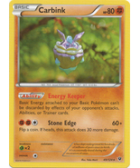 Carbink 49/124 Rare Fates Collide Pokemon Card - $0.79