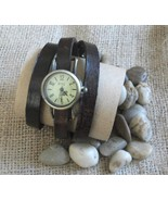 Watch wrap around leather strap - $30.00