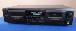 Sony TC-WE625 Cassette Deck, See Video!                       sn-8135516 - $71.65