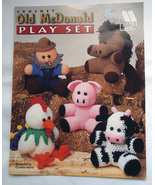 Crochet Pattern Booklet: Old McDonald Play Set by Annie's Attic - $5.00