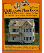 Houseworks Dollhouse Plan Book: Build 3 Complete House Styles - $8.50