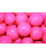GUMBALLS PINK 25mm or 1 inch (285 count), 5LBS - $27.31