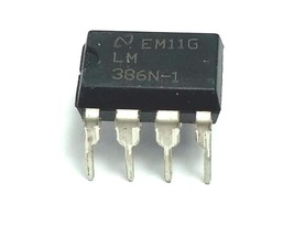 10 x Texas Instruments LM386N-1 LM386 Free Shipping New and Authentic US... - $6.91