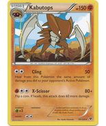 Kabutops 39/124 Rare Fates Collide Pokemon Card - $0.79
