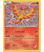 Moltres 9/124 Rare Fates Collide Pokemon Card - $0.79