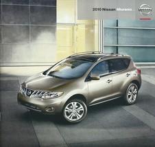 2010 Nissan MURANO sales brochure catalog US 10 S SL LE - $9.00