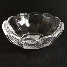 """1 (One) VAL ST LAMBERT BRUSSELS Intaglio Crystal 6"""" Bowl DISCONTINUED-Si... - $37.04"""