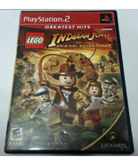 LEGO Indiana Jones: The Original Adventures (Sony PlayStation 2, 2008) - $9.89
