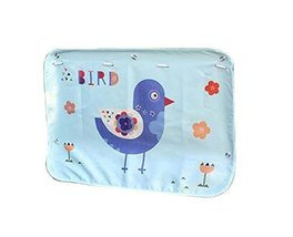 Set of 2 Cartoon Car Curtains Creative Sunshades Curtains Sunshades, Blue Bird