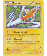 Rotom 24/124 Rare Fates Collide Pokemon Card - $0.79