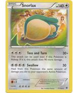 Snorlax 77/124 Rare Fates Collide Pokemon Card - $0.79