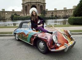 Janis Joplin Porsche TKK Vintage 16X20 Color Music Memorabilia Photo - $29.95