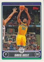 David West 2006-07 Topps Card #178 - $0.99