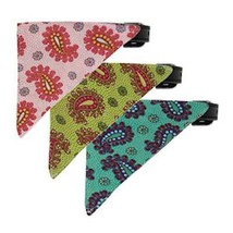 Pretty Paisley Bandana Dog Collar * 10 Design C... - $9.89 - $11.87