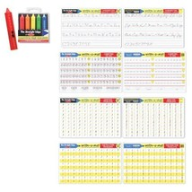 6 Item Bundle: Melissa & Doug Ages 5+ Color-A-Mat Learning Placemats & Crayon... - $19.55
