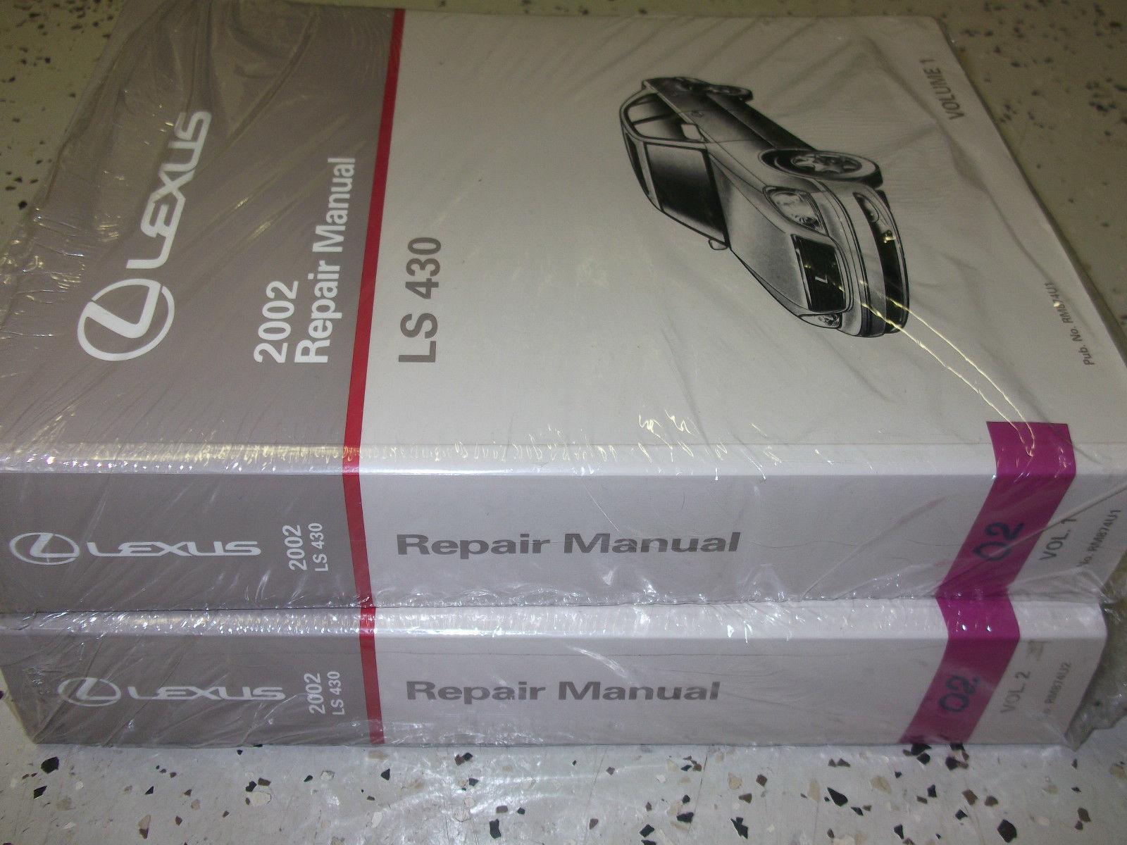 lexus ls430 workshop manual