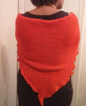 cotton shawl beautifully crocheted - $28.50